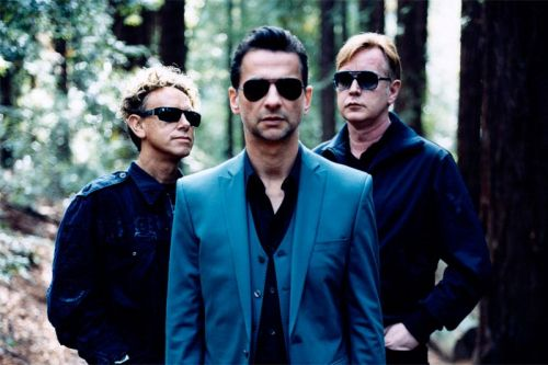 Copy of Depeche Mode in studio